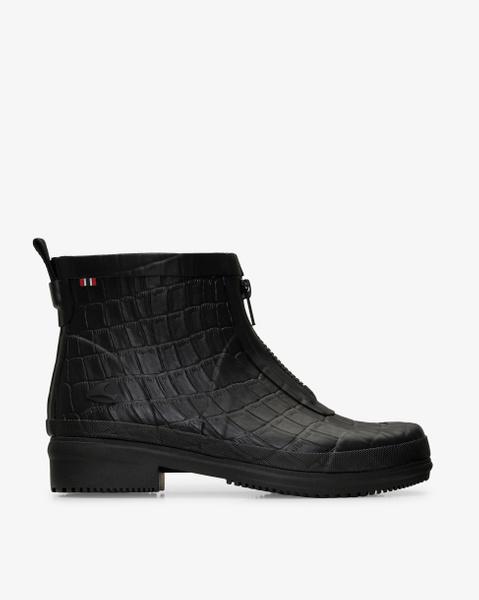Gyda Crocco Zipper Rubber Boot
