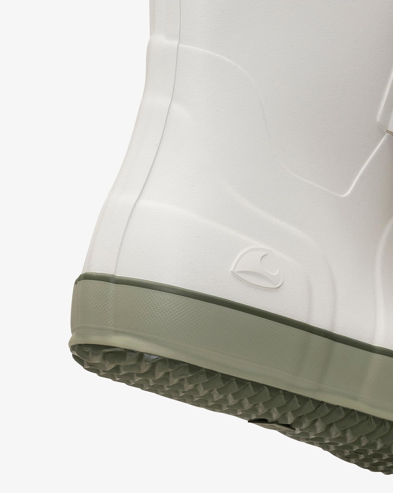 Retro Logg Rubber Boot