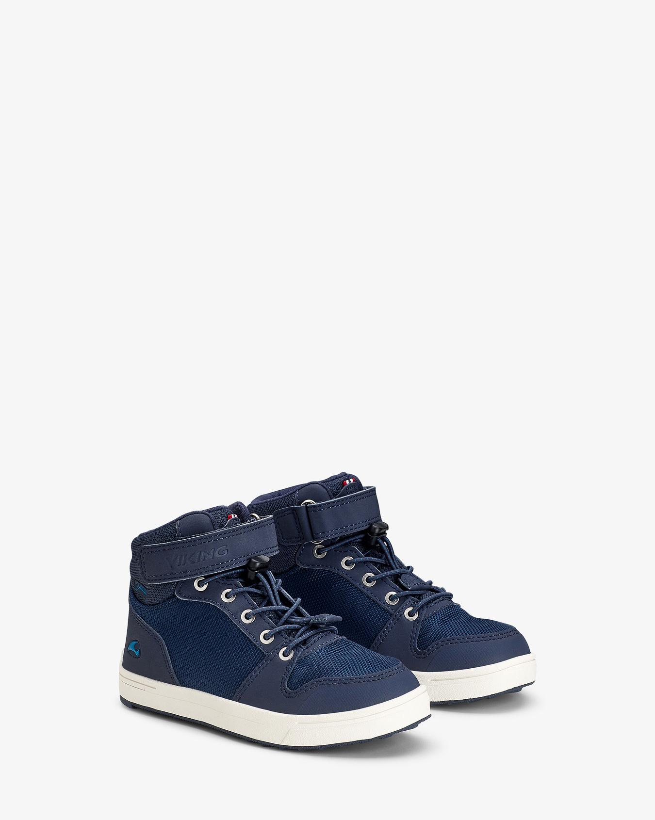 Jakob Mid GTX Navy Sneaker