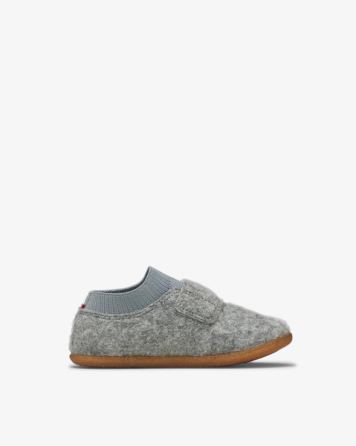 Njord Grey Slippers