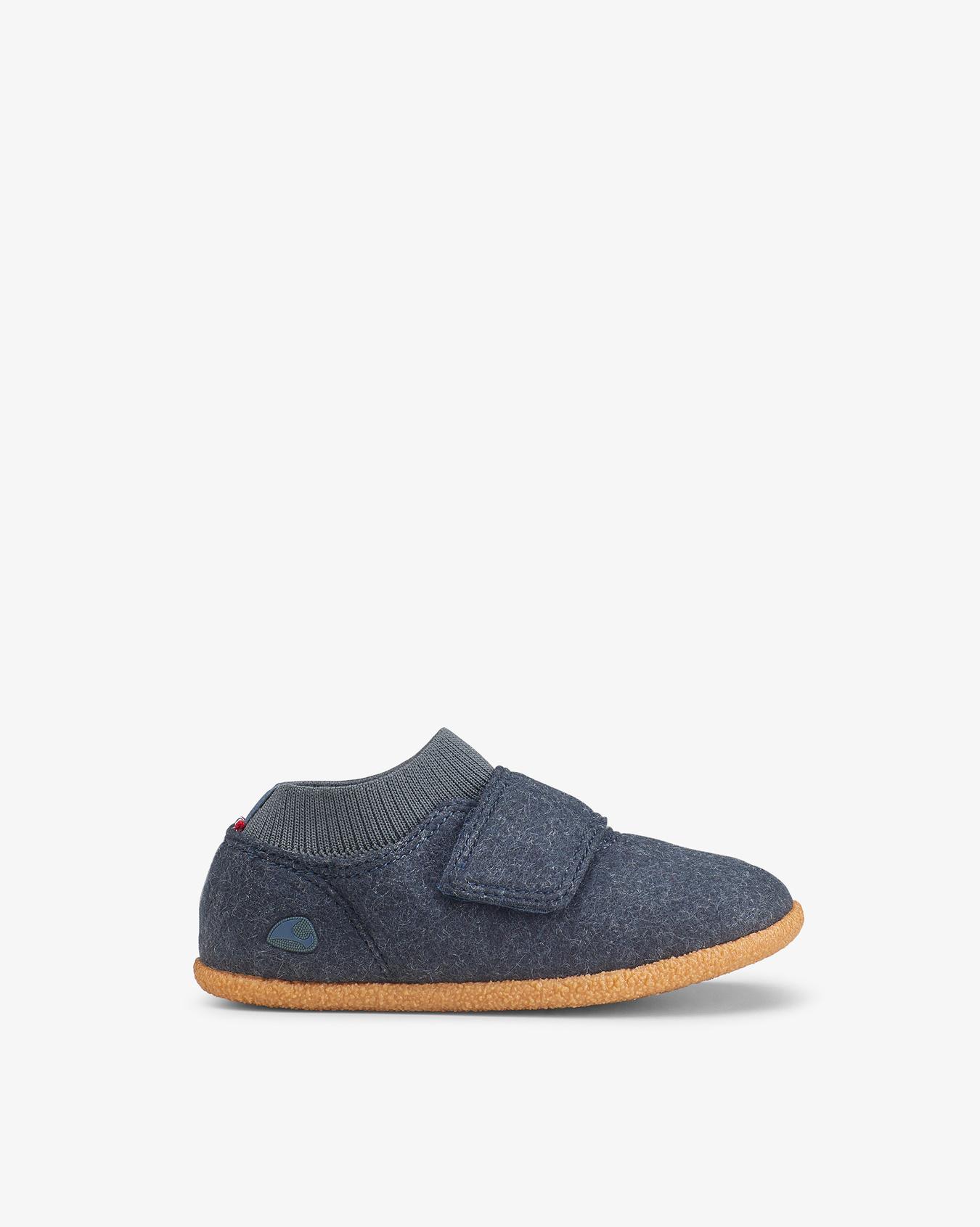 Njord Navy Slippers