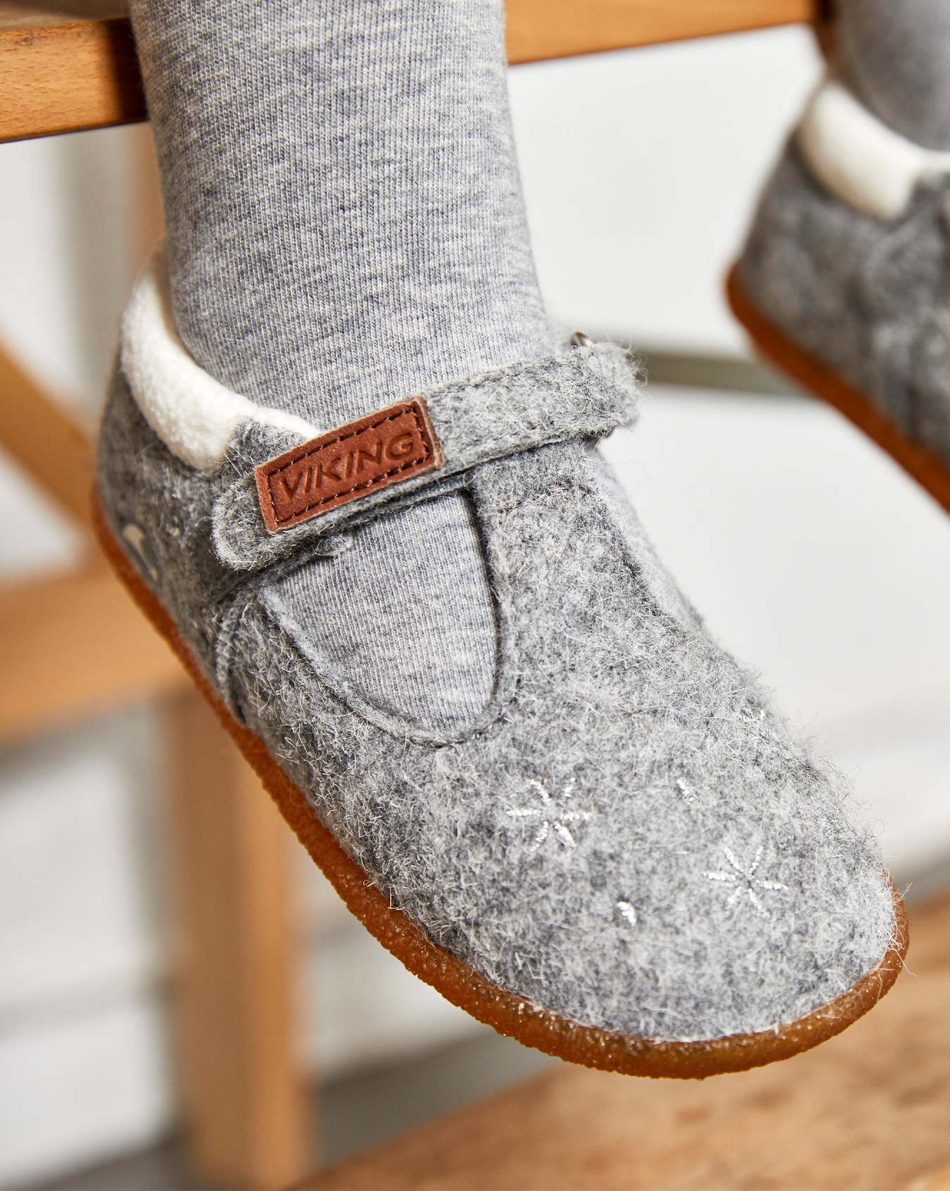 Mime Grey Slippers