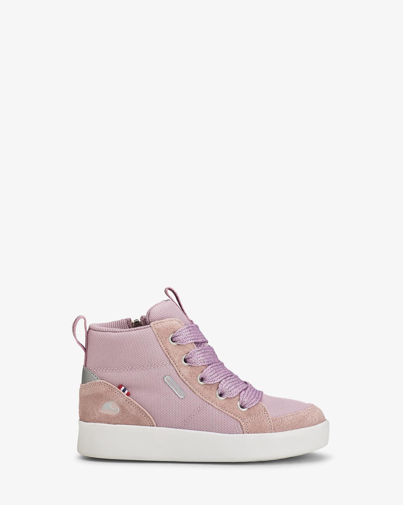 Smile Mid Dusty Pink Sneaker