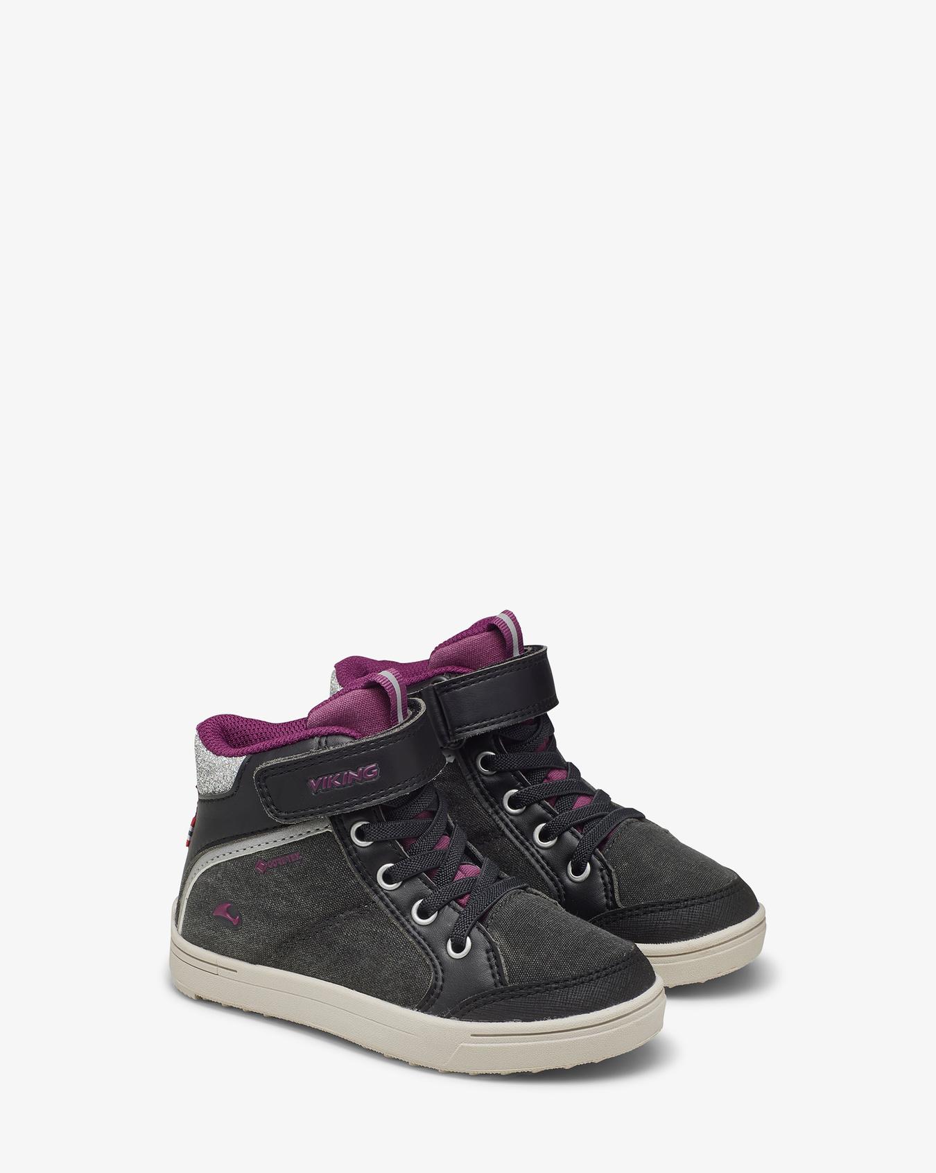 Laila Mid GTX Black Sneaker