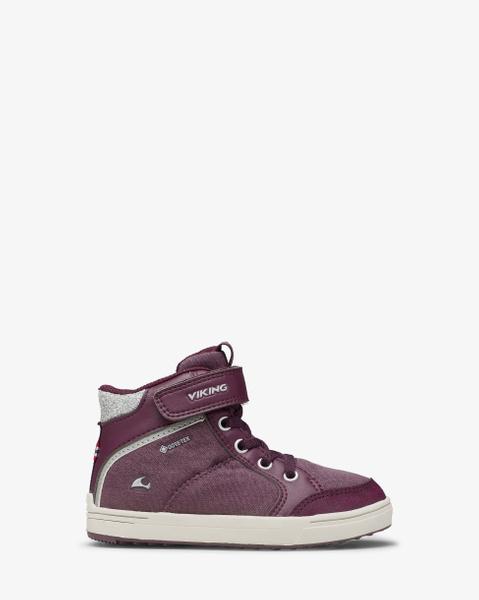 Laila Mid GTX Purple Sneaker