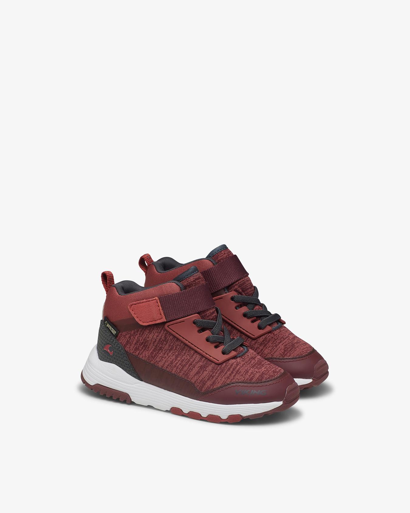 Arendal Mid GTX Burgundy Sneaker