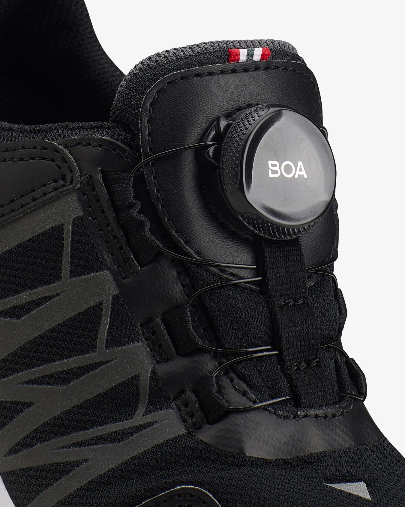 Oppsal Boa R GTX Black Sneaker