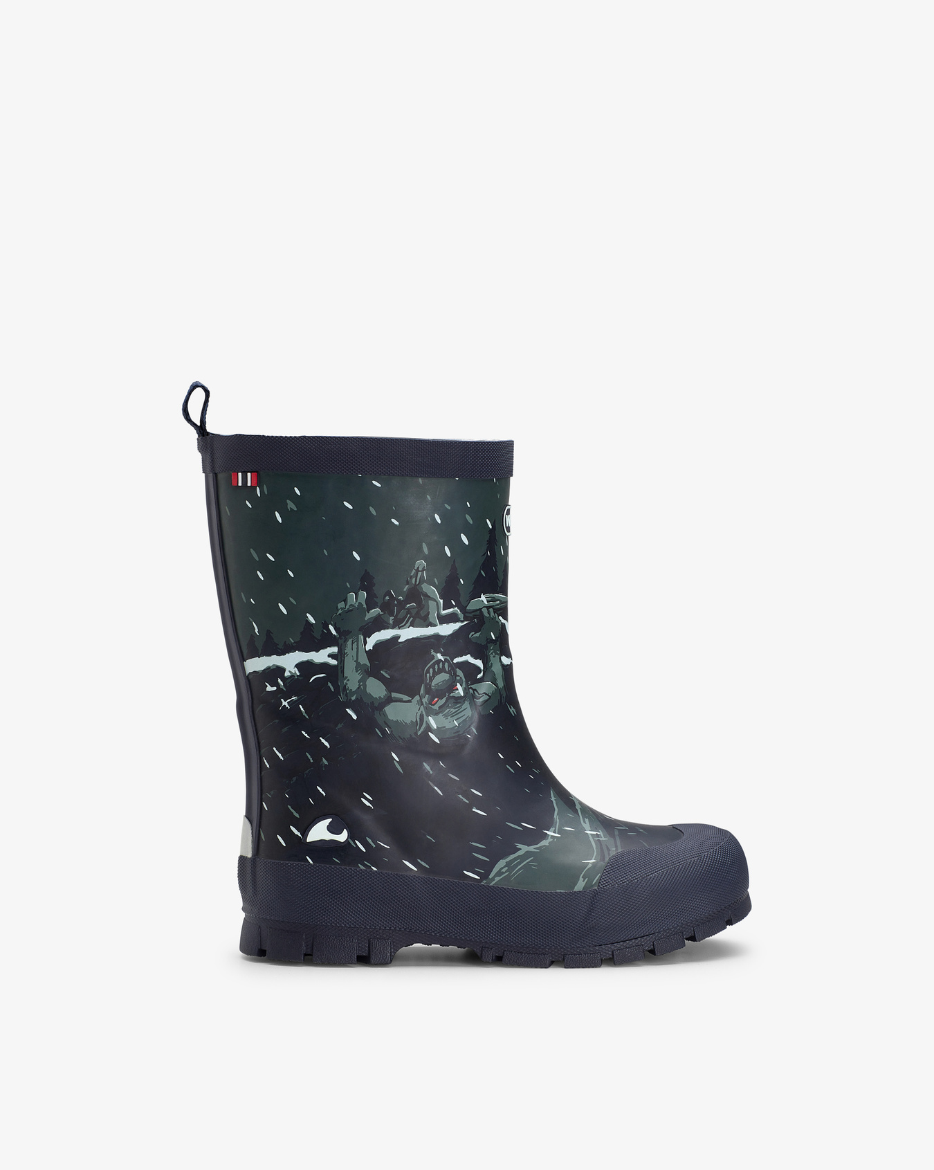 Jolly Thermo Print Dark Grey Rubber Boots
