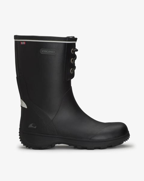 Navigator II Black Rubber Boots