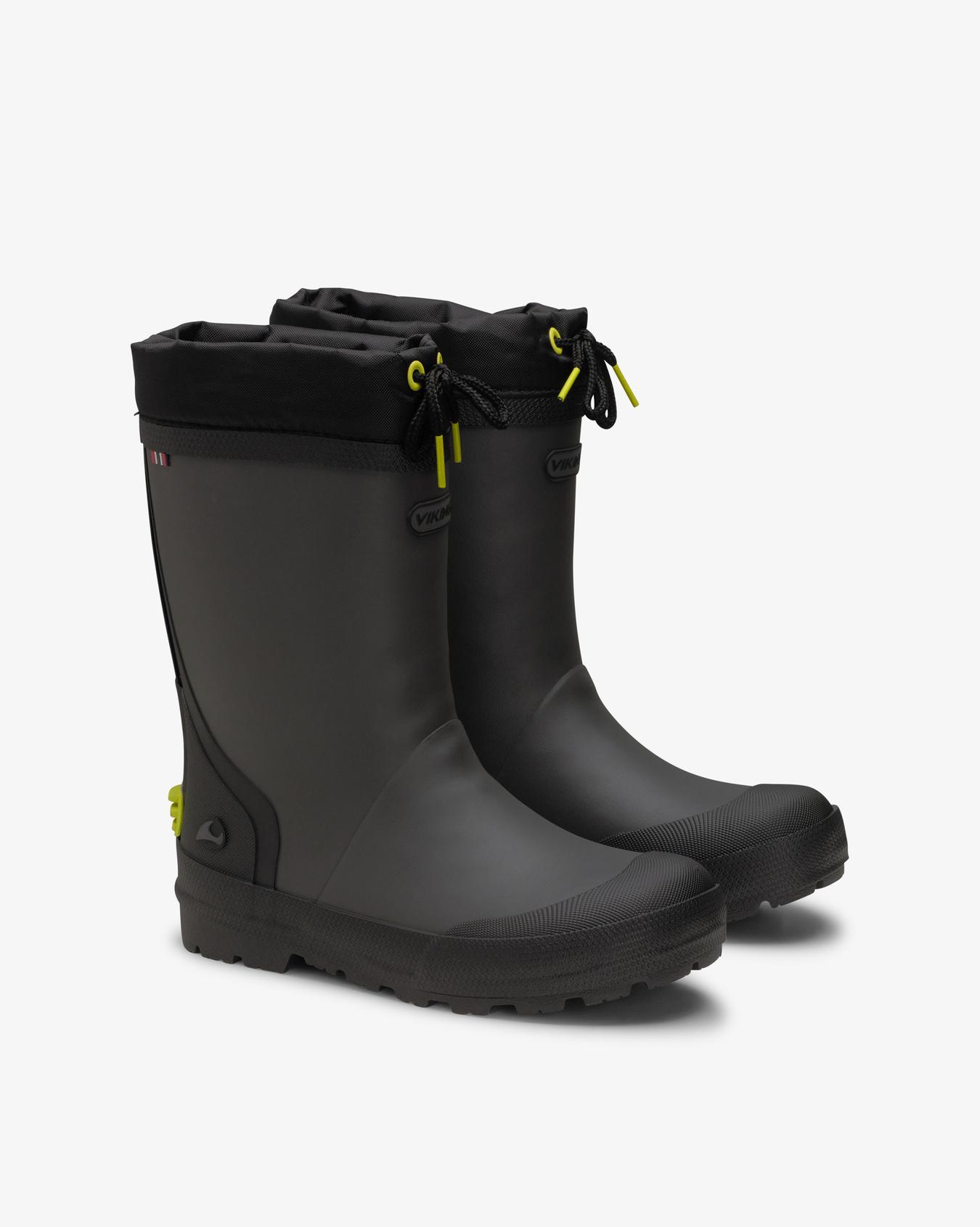 Slagbjorn Thermo Jr Dark Grey Rubber Boots
