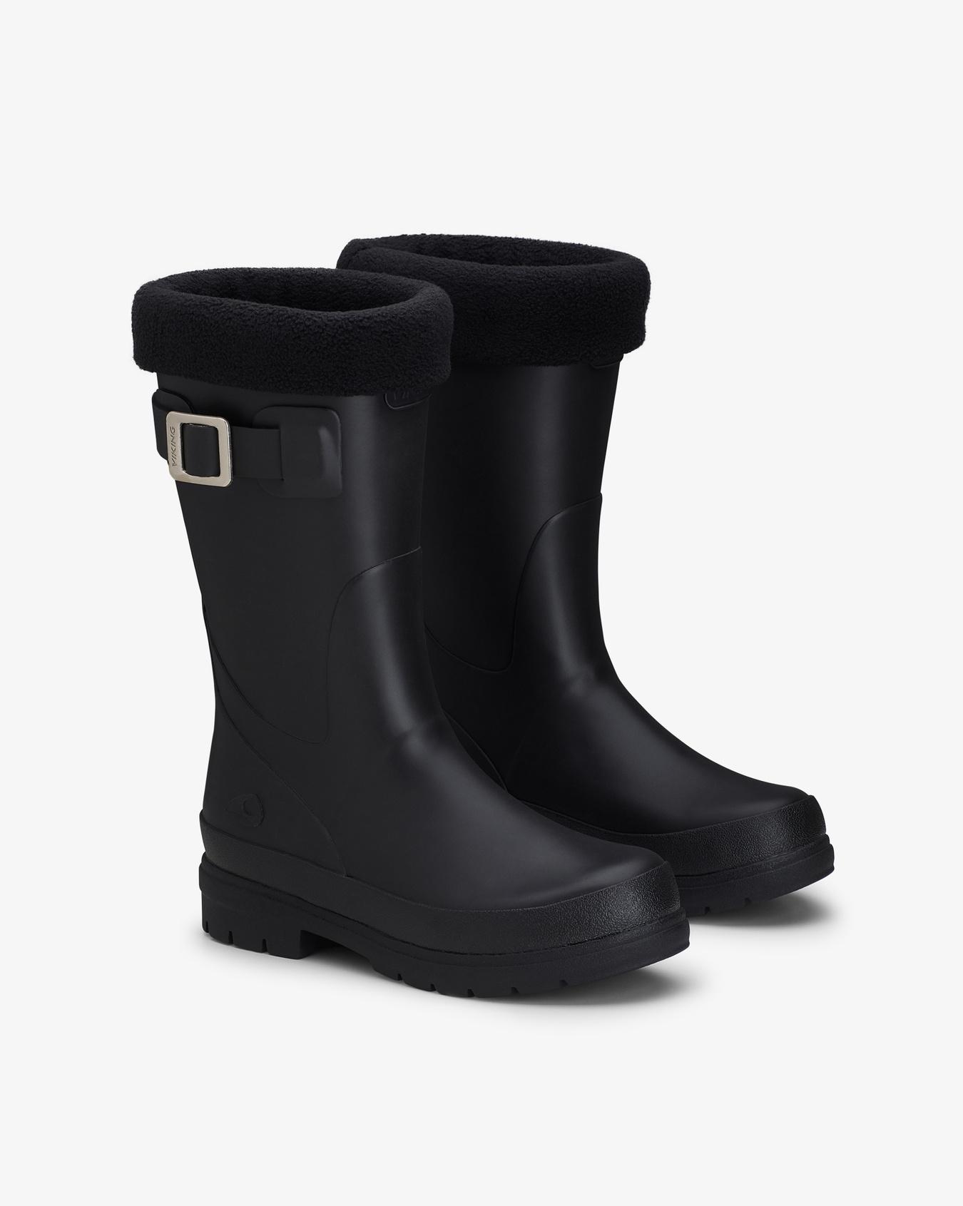 Vendela Jr. Rubber Boots w/Fleece sock