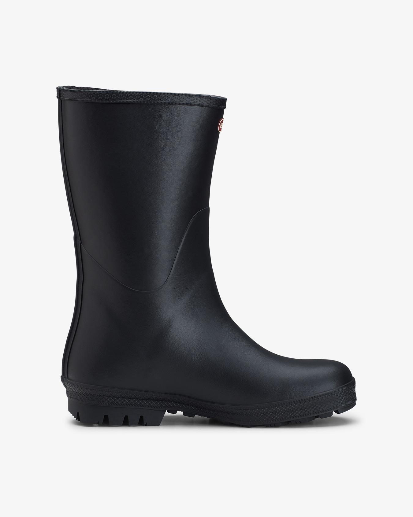 Hedda Vinter Black Rubber Boots