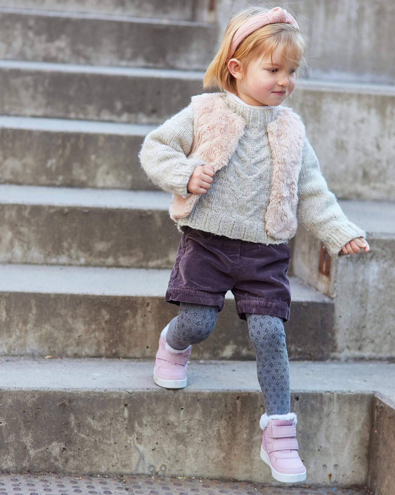 Esther Dusty Pink Winter Boots