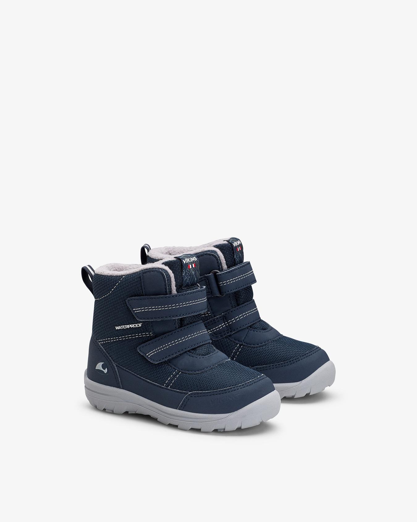 Tretten Navy Winter Boots