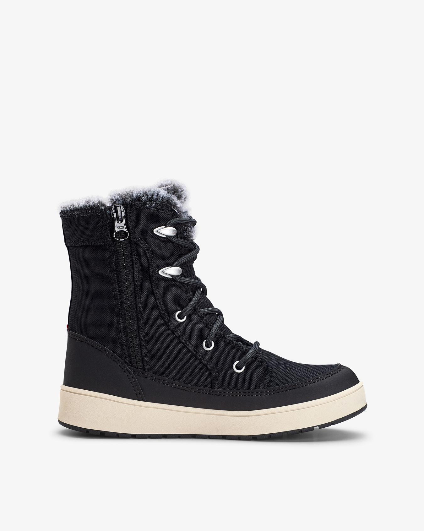 Maia Zip GTX Black Winter Boots