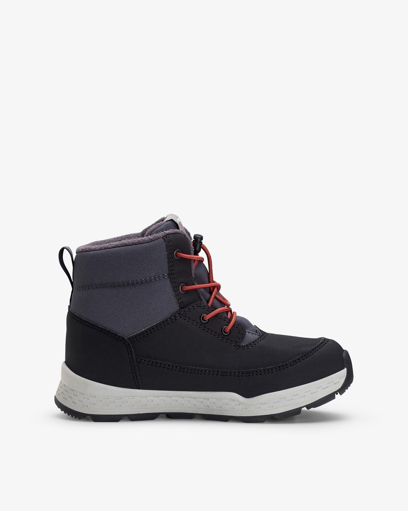 Sjur Black Winter Boots