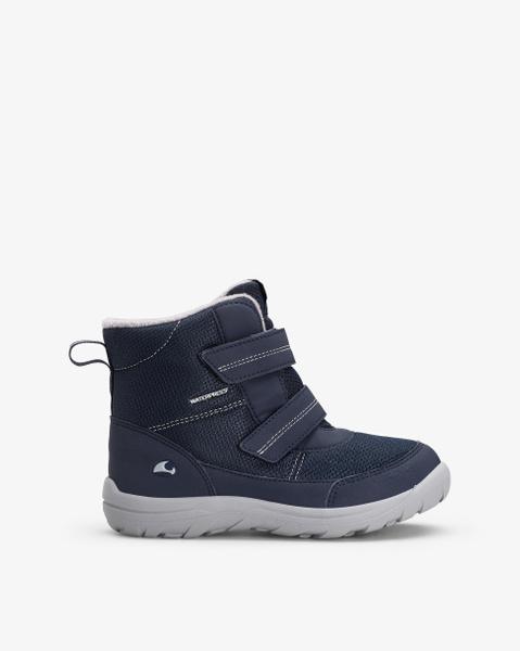 Tretten Jr Navy Winter Boots