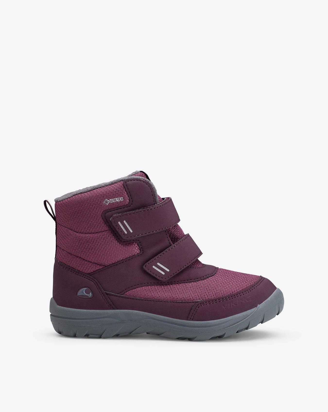 Vang Jr GTX Plum Winter Boots