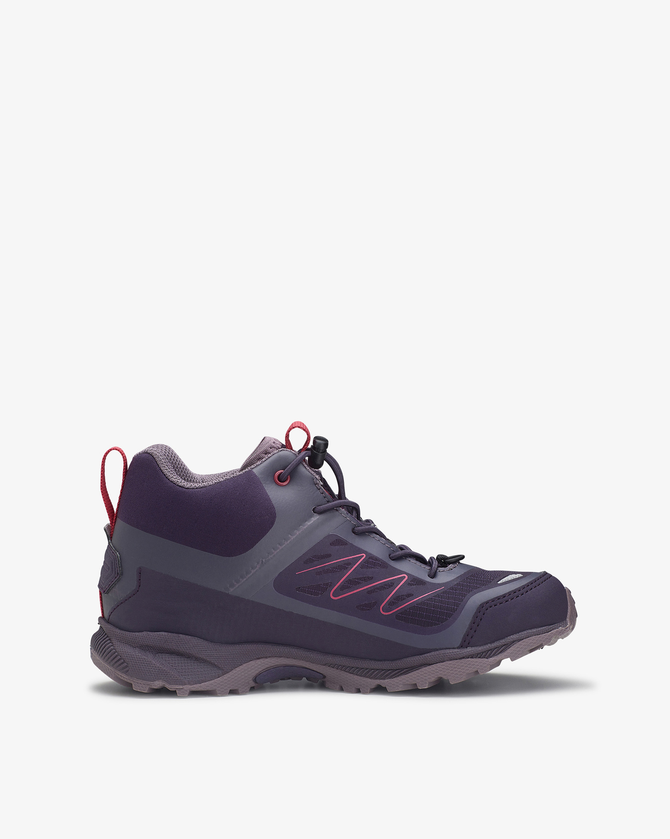Tind Mid GTX Grey Red Hiking Boots
