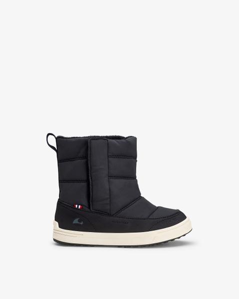 Hoston Black Winter Boots