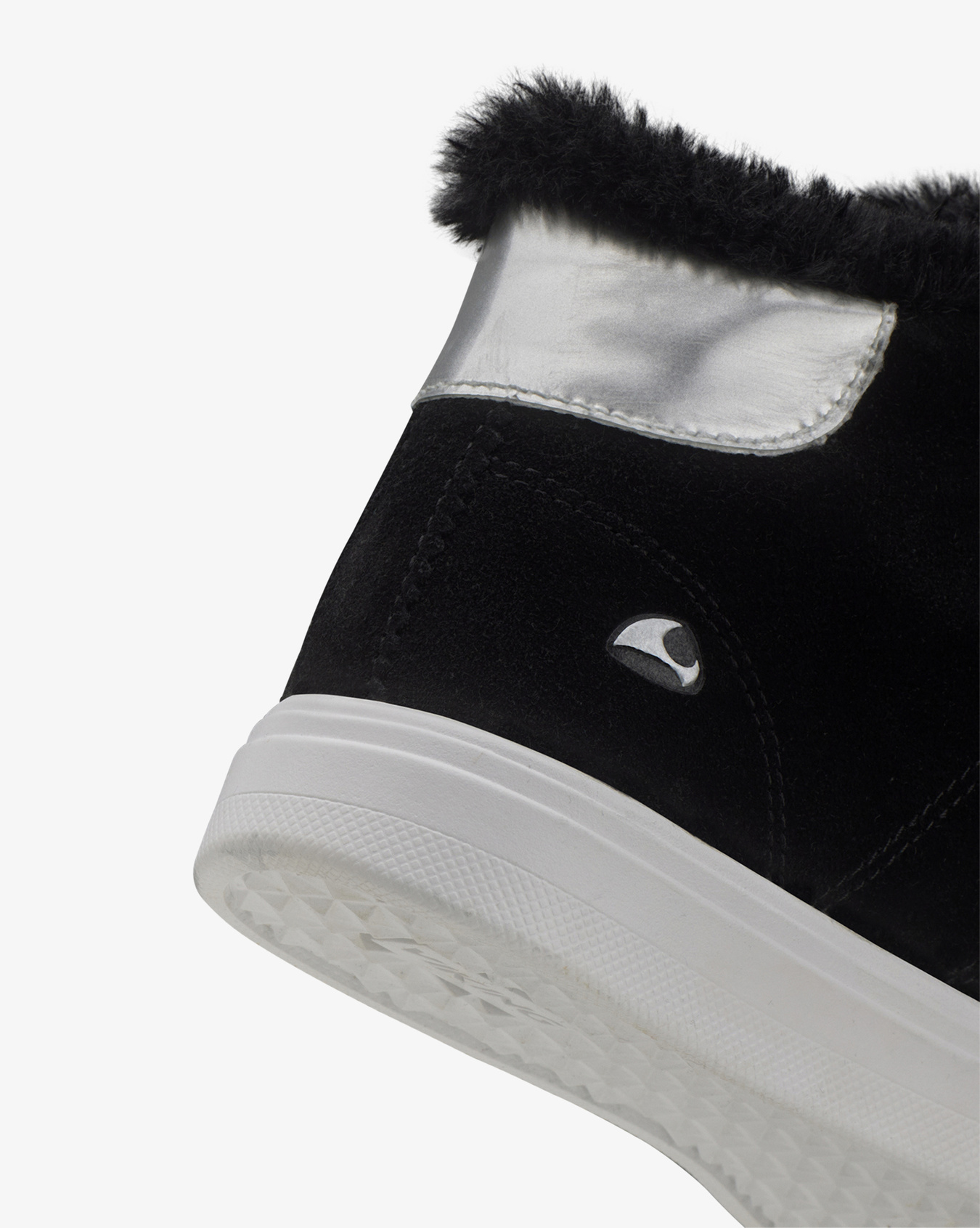 Anna Mid Black Sneaker