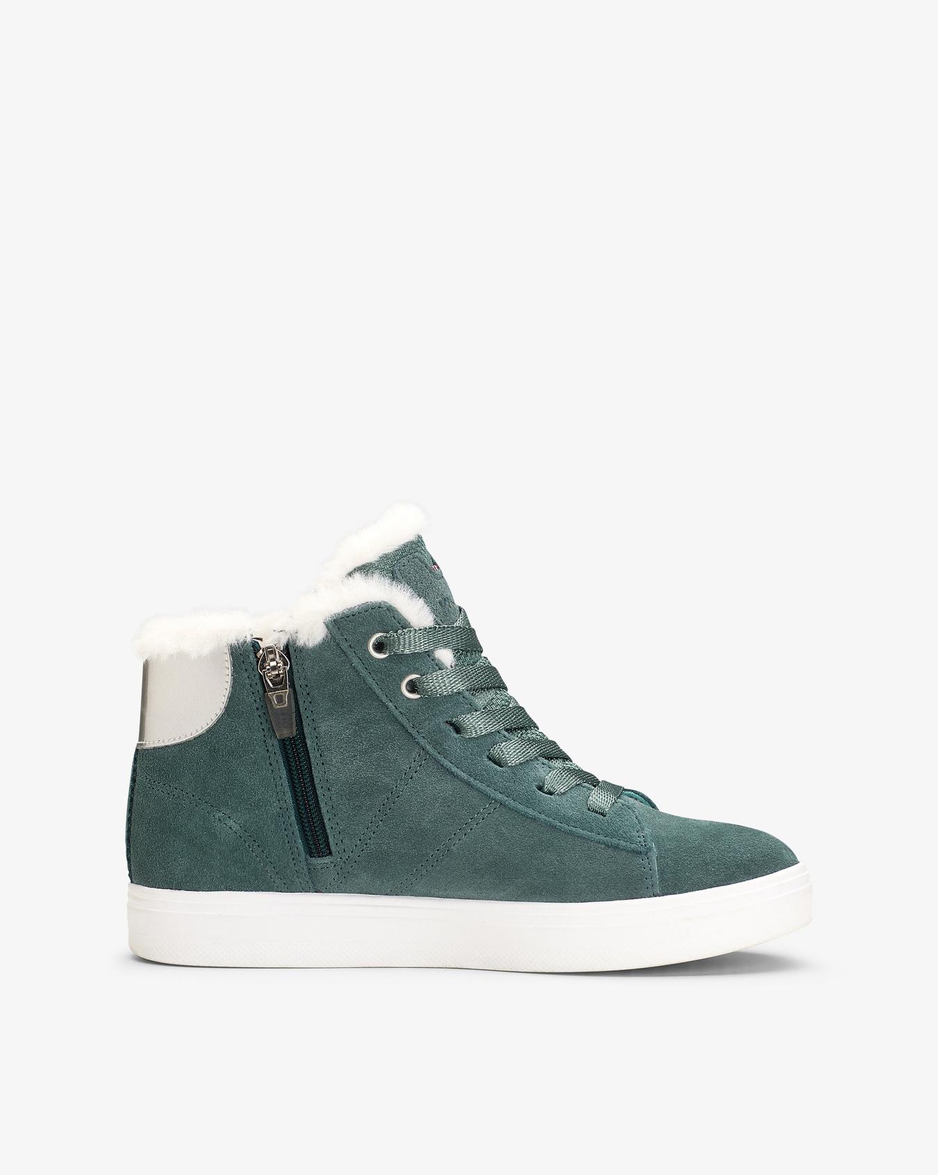 Anna Mid Bluegreen Sneaker
