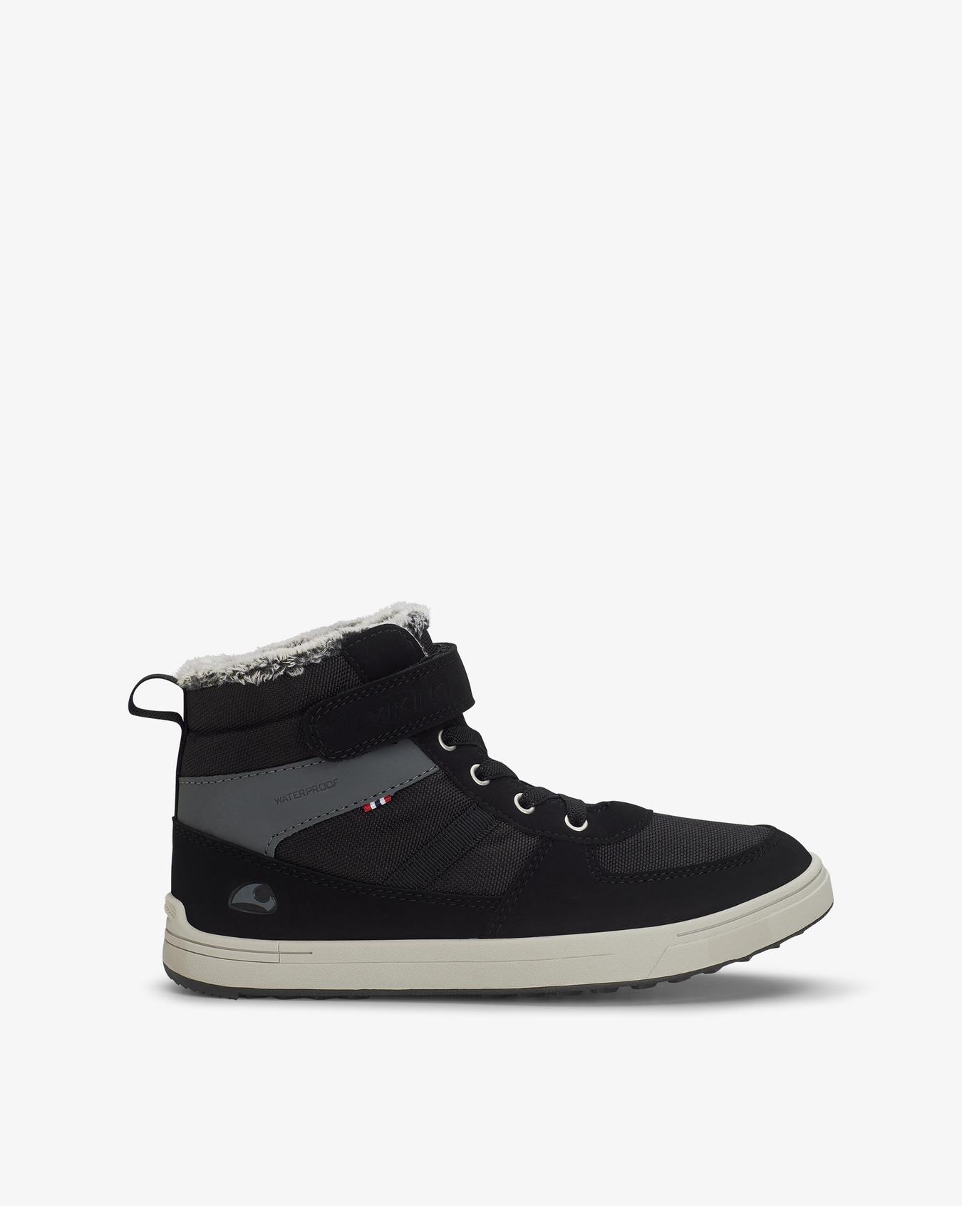 Lucas Black Mid Jr Sneakers