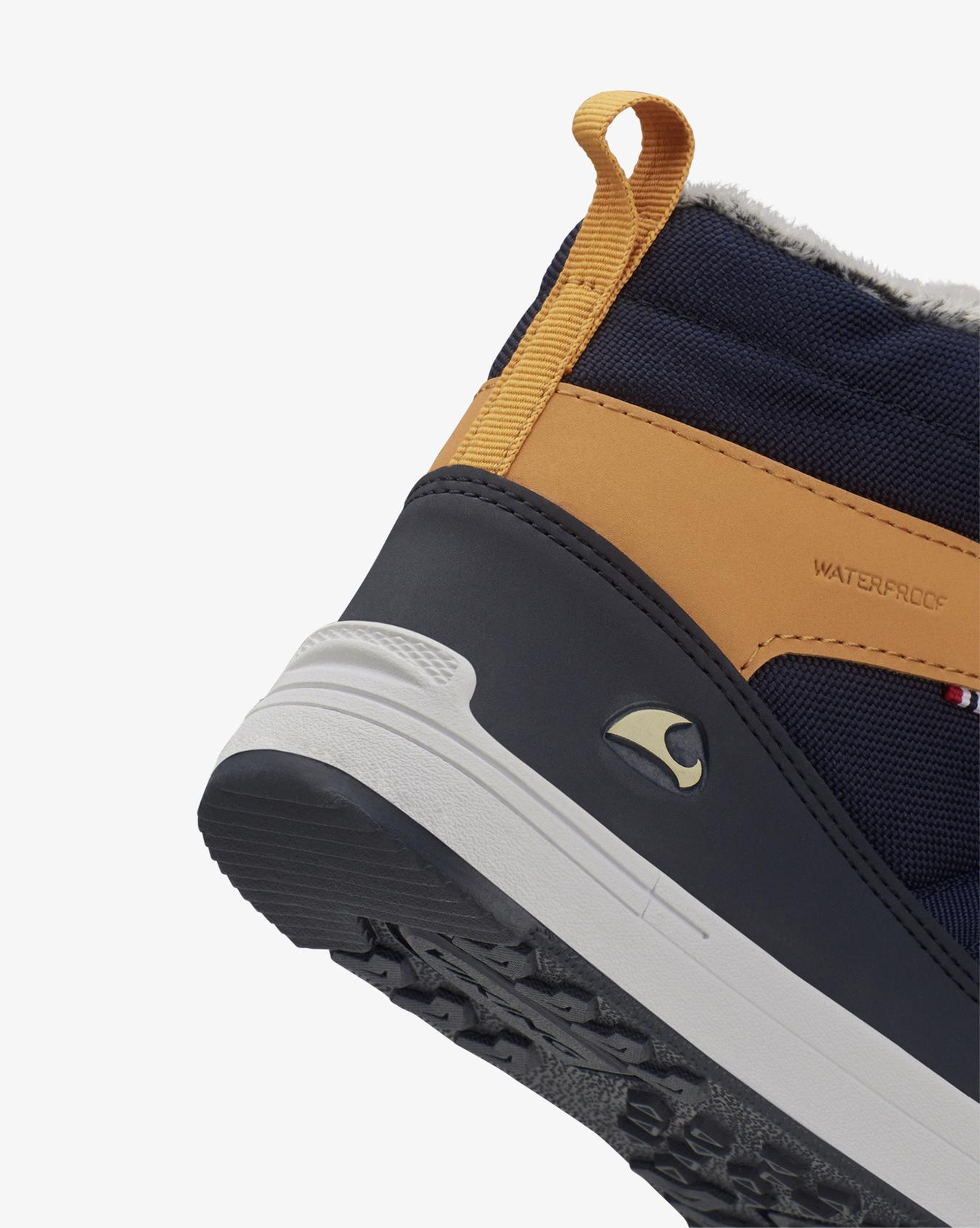 Lucas Navy Mid Jr Sneakers