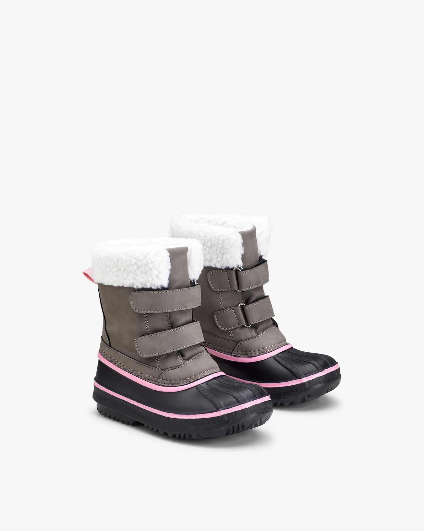 Rogne Purple Winter Boots